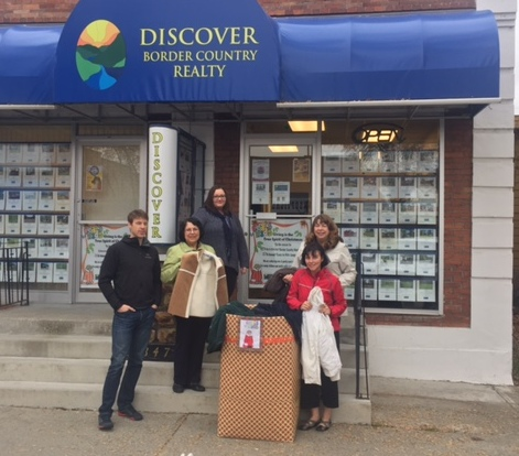 coats for kids, grand forks, 2016, border country realty, sharon marshall, edan marshall, angela popoff, jennifer houghton