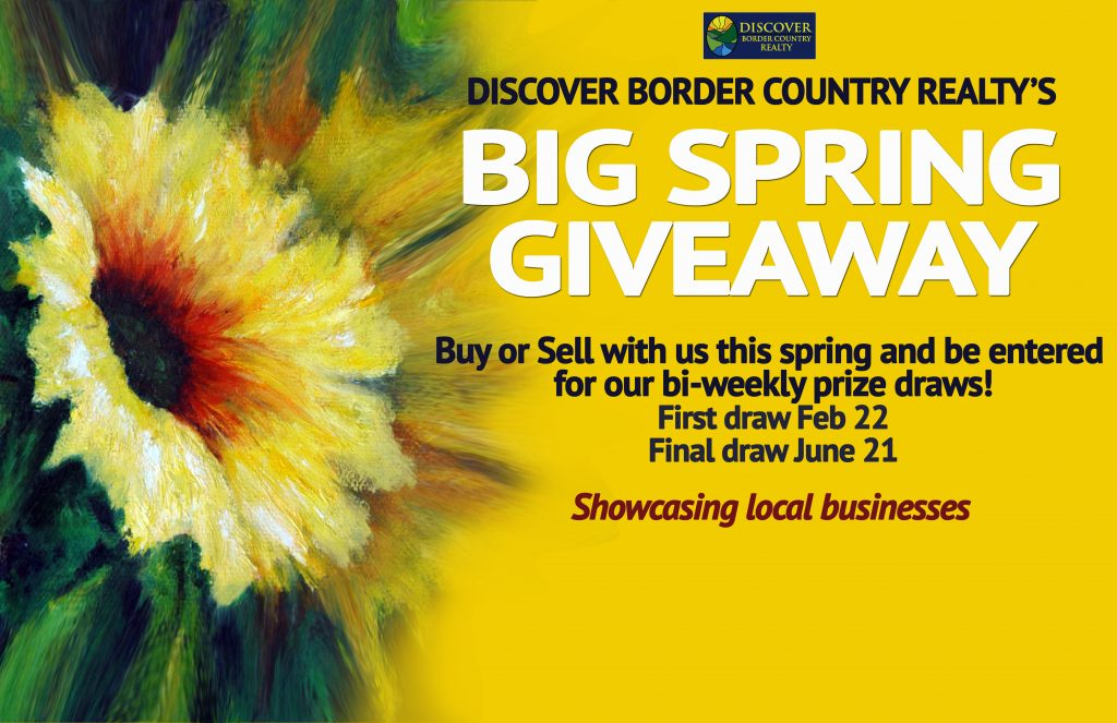 Border Country Realty, Grand Forks, Big Spring Giveaway,